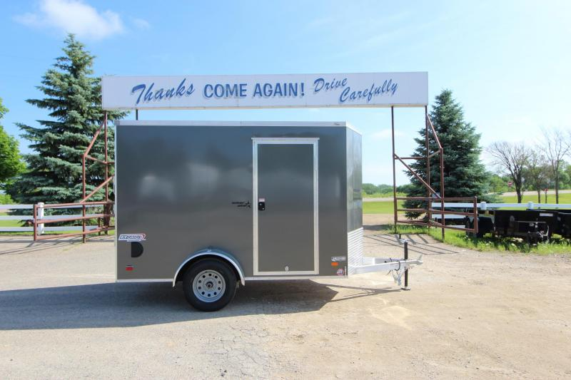2020 Bravo Trailers 6x10 Aluminum Enclosed Cargo Trailer