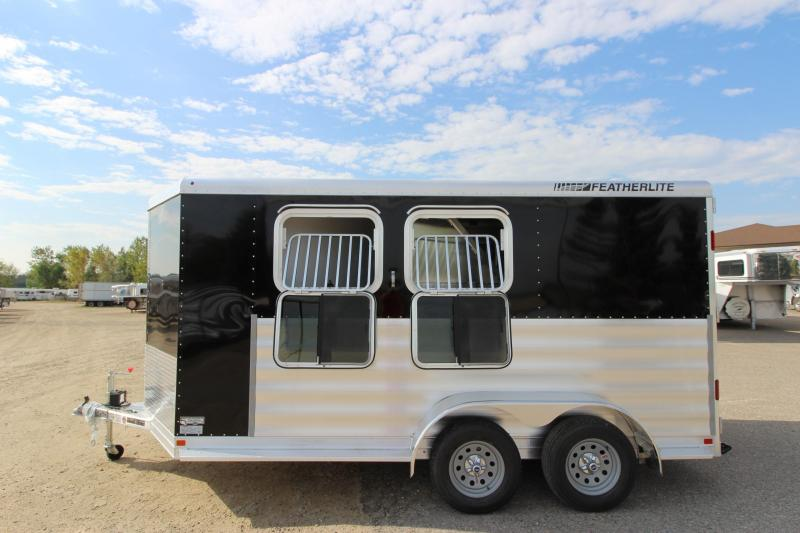 2018 Featherlite 9409 2HR BP Horse Trailer
