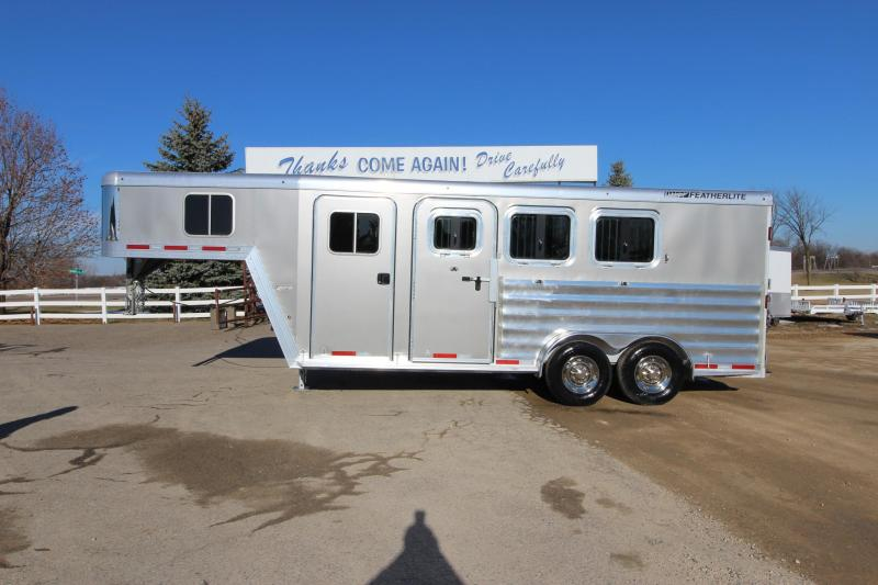 2017 Featherlite 8541 3HR GN Horse Trailer
