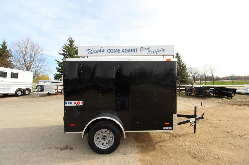 2019 Bravo Trailers Hero 5x8 Enclosed Cargo Trailer