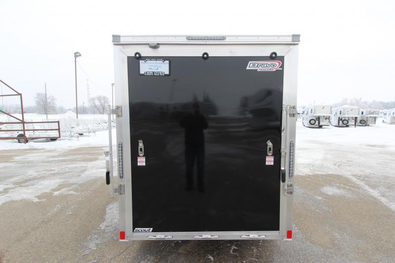 2018 Bravo Trailers 6x12 Enclosed Cargo Trailer
