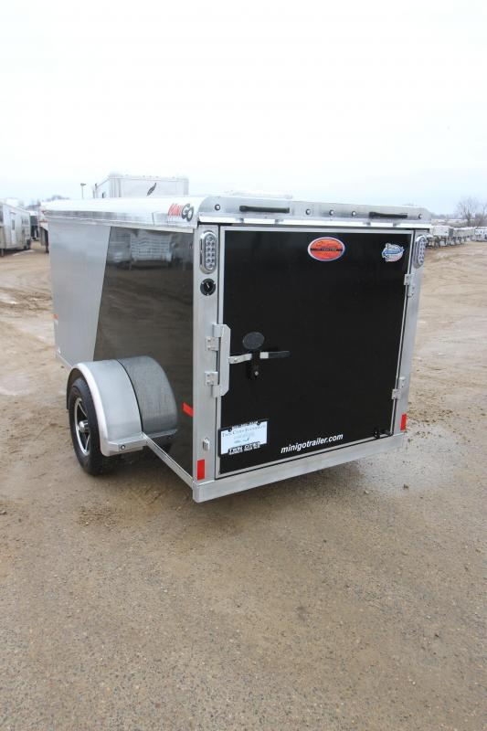 2019 Sundowner Trailers Mini Go 5x10 Enclosed Cargo Trailer