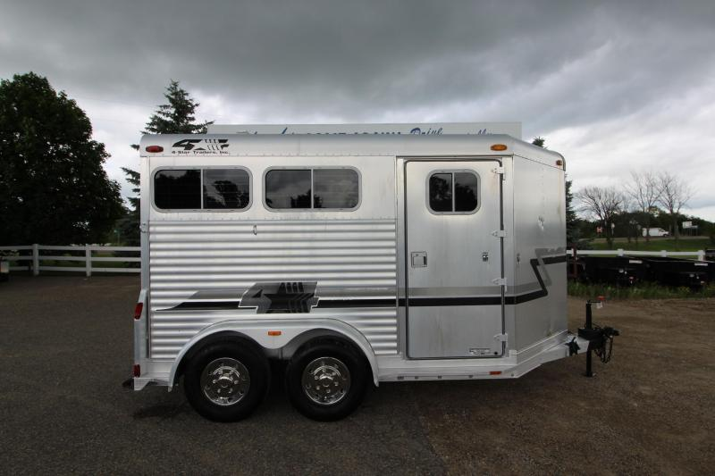 2000 4-Star Trailers 2HR BP Horse Trailer