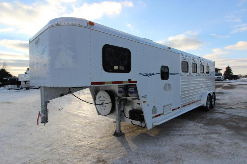 1999 hart trailers 4hr lq horse trailer featherlite horse and