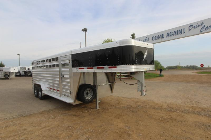 2019 Featherlite 8127 20 Livestock Trailer