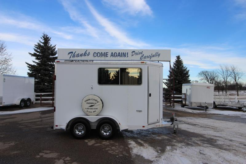 2010 Featherlite 2HR Straight Load BP Horse Trailer