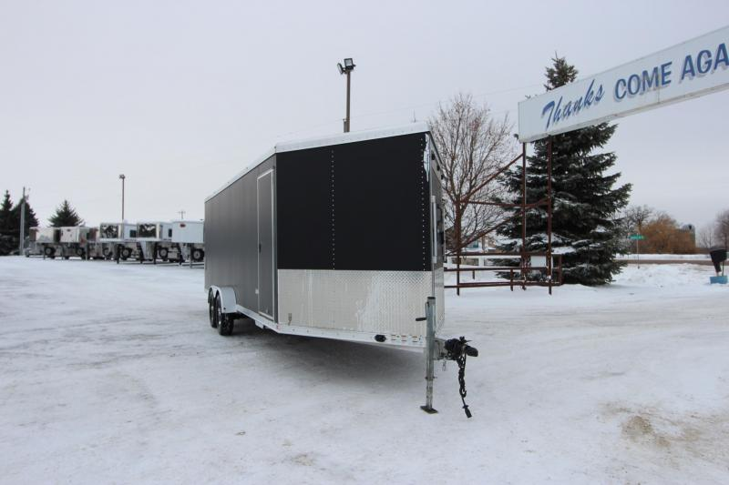 2014 Featherlite 1610v 24 Snowmobile Trailer