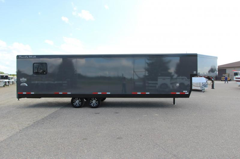 2020 Trails West Manufacturing RPM 28' Snowmobile Trailer