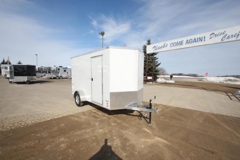 2018 Bravo Trailers 6x12 Aluminum Enclosed Cargo Trailer
