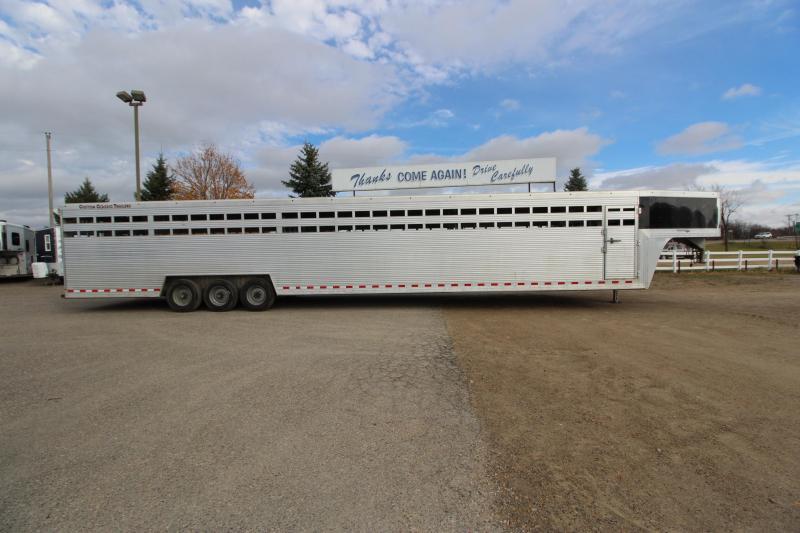 2016 Classic Manufacturing 45 GN Livestock Trailer