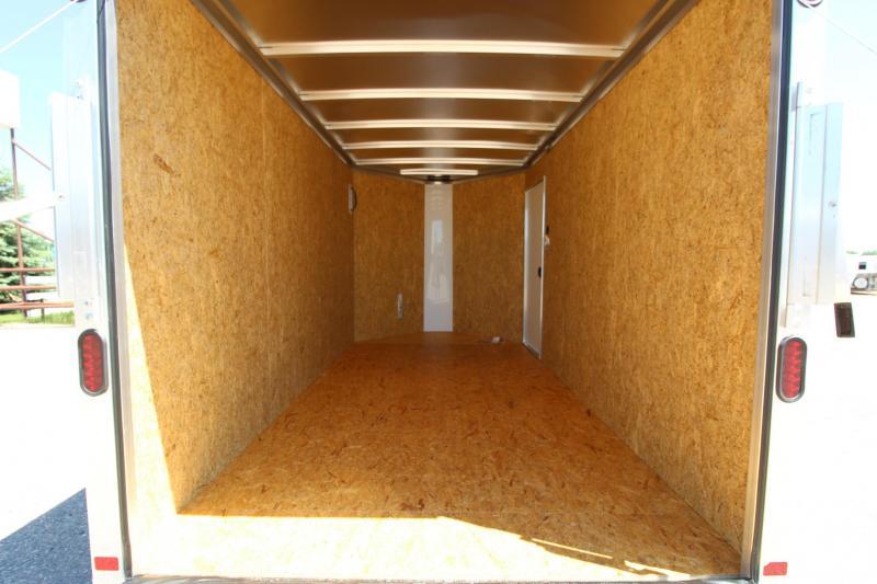 2019 Featherlite 1610 12 Enclosed Cargo Trailer