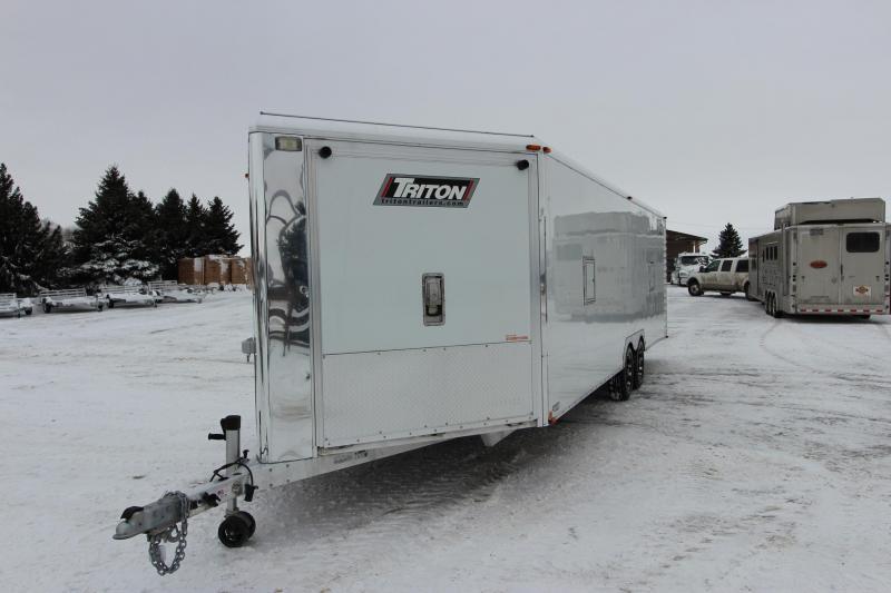 2014 Triton PRLB24 8.5x24 Snowmobile Trailer