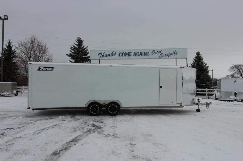 2014 Triton PRLB24 8.5x24 Snowmobile Trailer