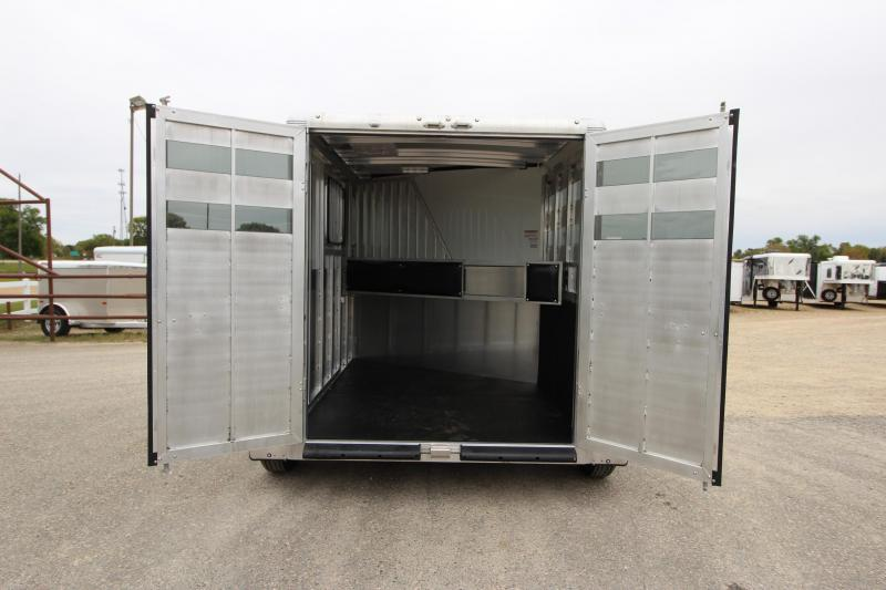2019 Sundowner Trailers Supoer Sport 2HR BP Horse Trailer