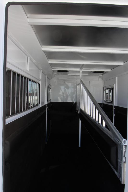 2019 Trails West Manufacturing Royale Plus 2HR BP Horse Trailer