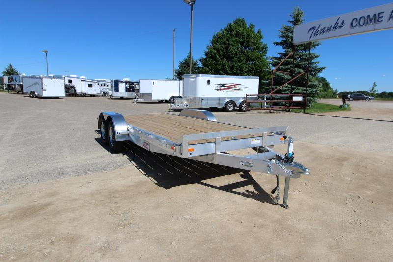 2018 American Hauler Industries 8x18 5.2k axles Car / Racing Trailer