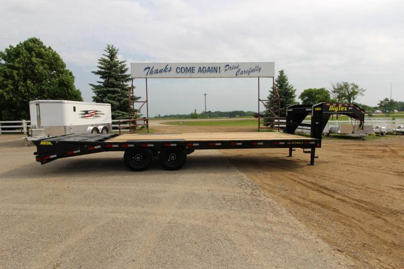 2018 Big Tex Trailers 14GN 20 5' Equipment Trailer