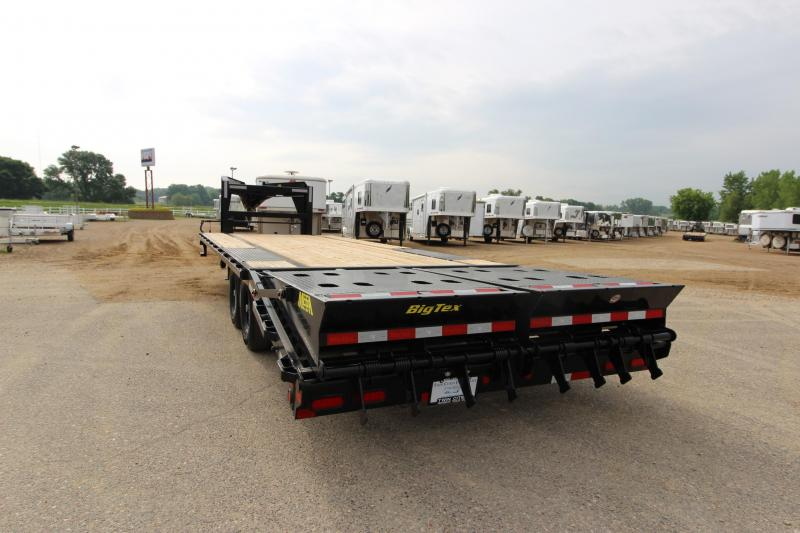 2018 Big Tex Trailers 14GN 20 5' Equipment Trailer