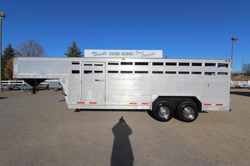 1992 Eby Trailers 7 X 20 Livestock Trailer