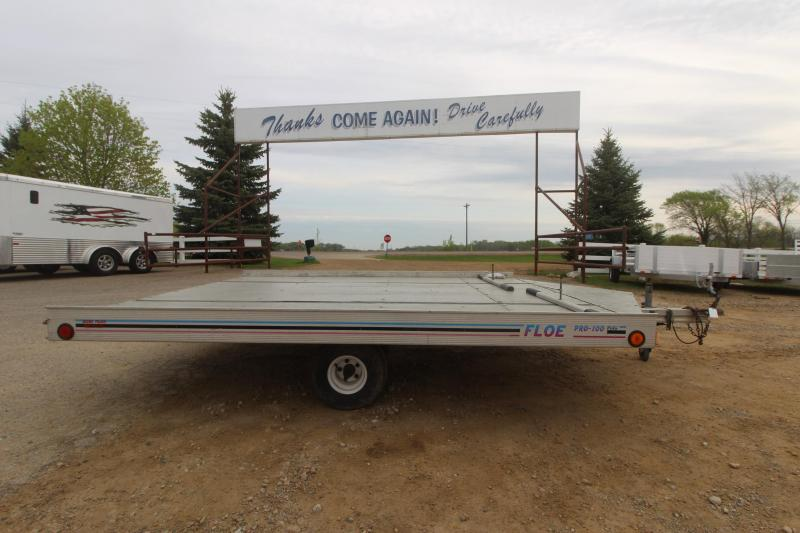 1999 Floe 8x10 Snowmobile Trailer