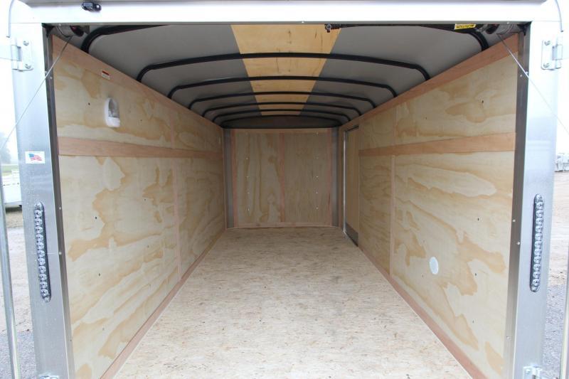 2019 American Hauler Industries 7x14 AirLite Enclosed Cargo Trailer