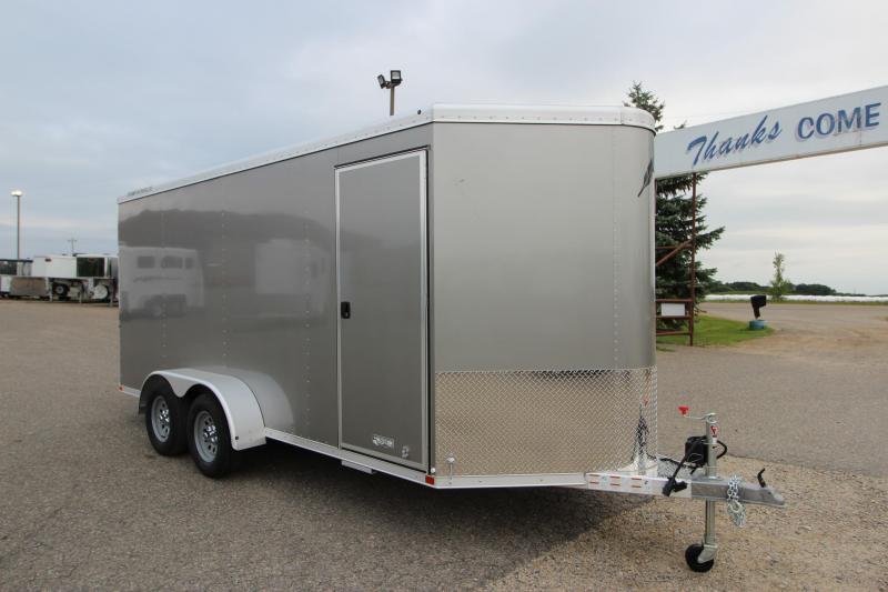 2020 Featherlite 1610 16' BP Enclosed Cargo Trailer