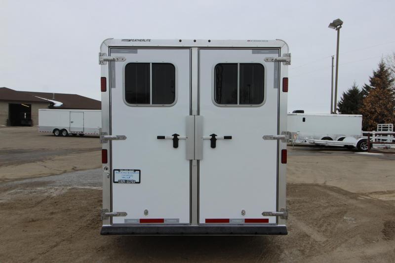 """2018 Featherlite 8541 5HR GN 52"""" D/R Horse Trailer"""