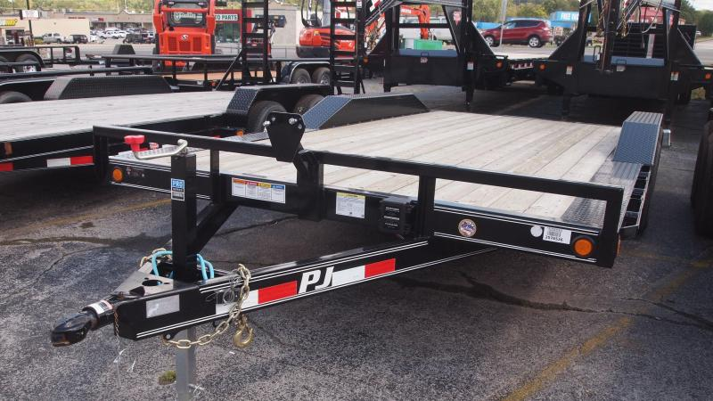 "2019 PJ Trailers B5 18x102"" superwide Equipment Trailer"