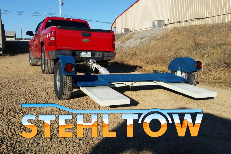 2018 Stehl CAR DOLLY Tow Dolly FOR TRUCK RV MOTORHOME CAMPER
