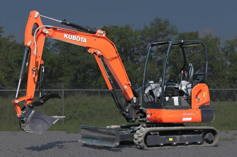 2018 Kubota Mini Excavator