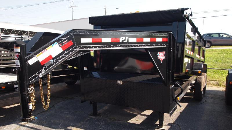 2019 PJ Trailers 16x83 DM Low Profile High Side Dump Trailer