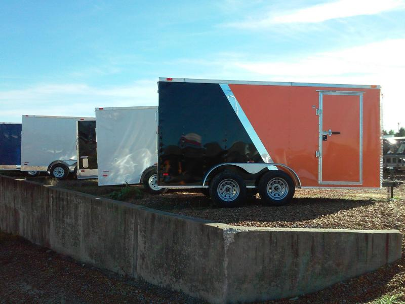 2018 Freedom Trailers enclosed trailers 12'