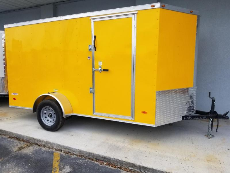 2019 Freedom Trailers 6X12 SA Enclosed Cargo Trailer