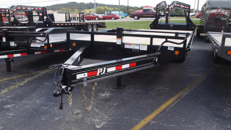 2019 PJ Trailers F8 Deckover Equipment Trailer