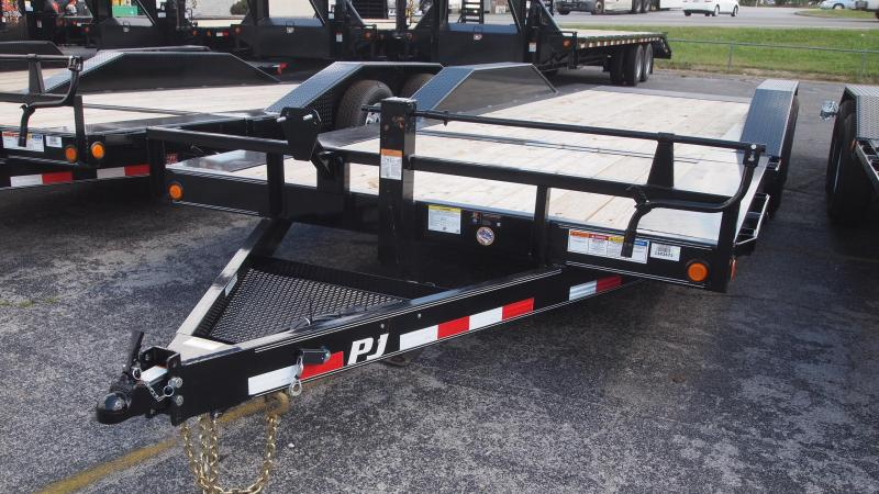 2019 PJ Trailers TS 22x102 Superwide Tilt Equipment Trailer