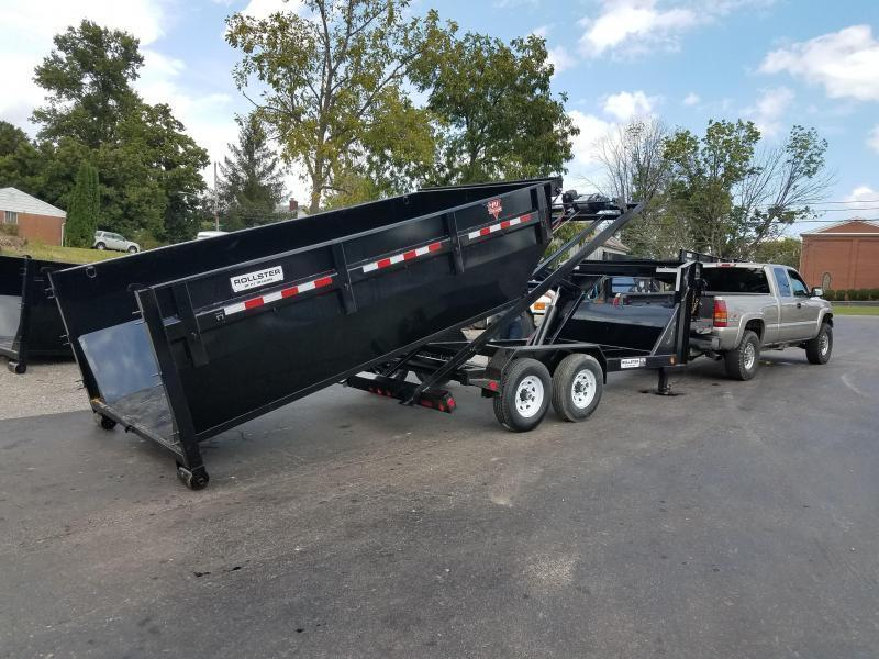 2019 PJ Trailers 14 GN Roll off Dumpster Trailer