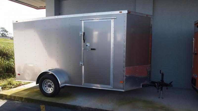 2019 Freedom Trailers 6x12 Single Axle Enclosed Cargo Trailer