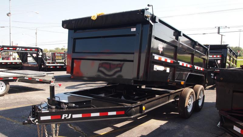 "2019 PJ Trailers 14x83"" Highside Dump Trailer"