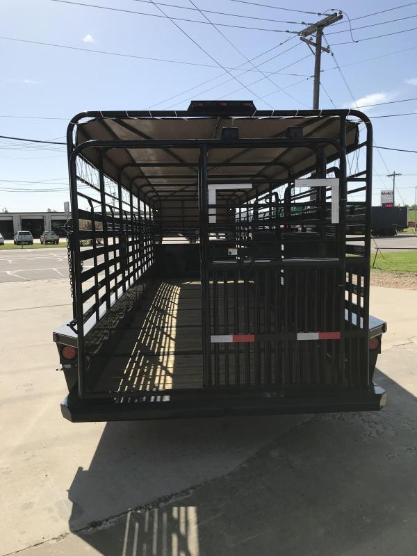 2018 Delco Trailers GB68X2828K Livestock Trailer