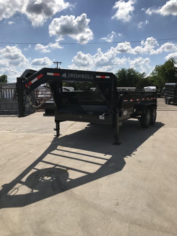 2018 Iron Bull DTG8314072 Dump Trailer
