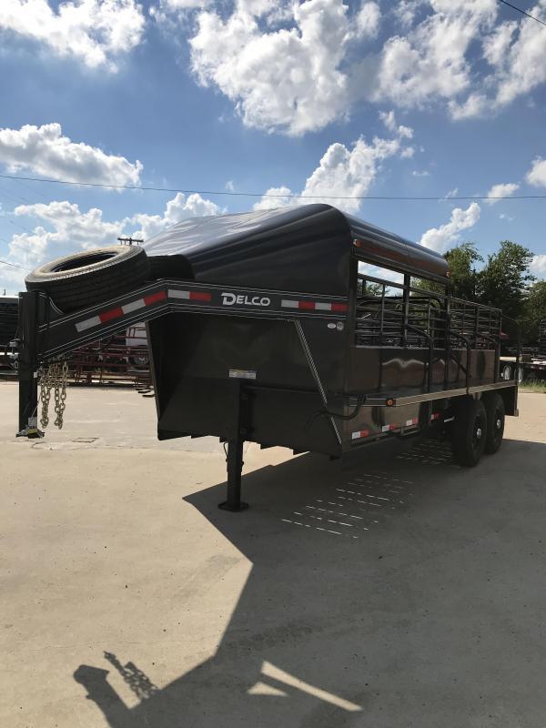 2019 Delco Trailers GP68X1627K Livestock Trailer