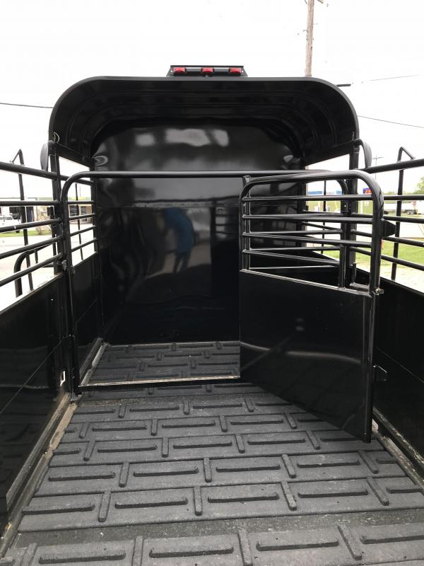 2018 Delco Trailers GP6X1617K Livestock Trailer