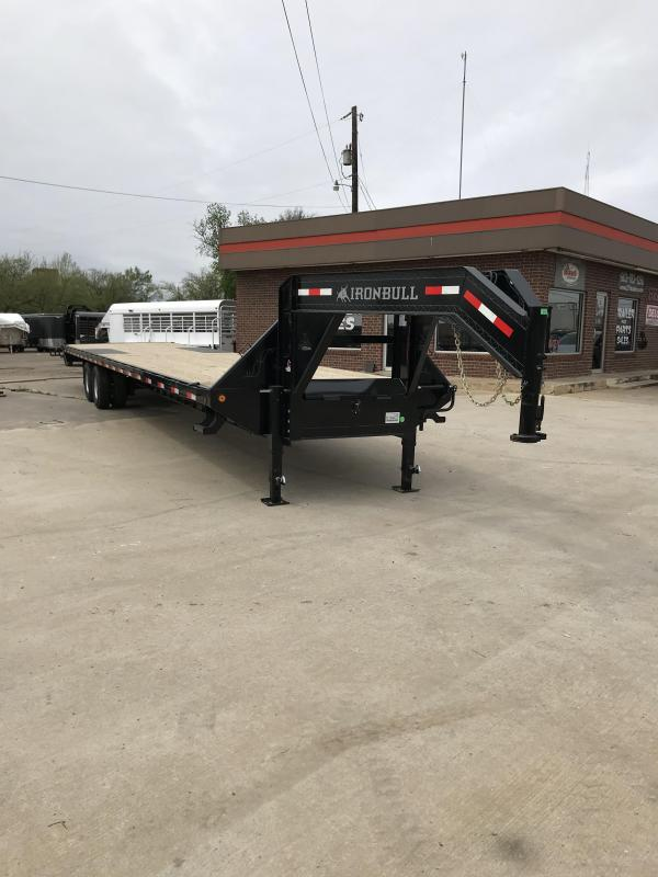 2018 Iron Bull FTG0240122 Flatbed Trailer