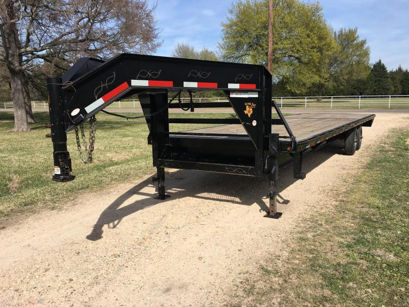 2005 Lonestar GF30 Flatbed Trailer