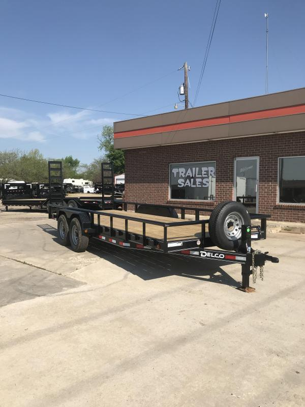 2019 Delco Trailers BC0832027 Equipment Trailer in Dierks, AR