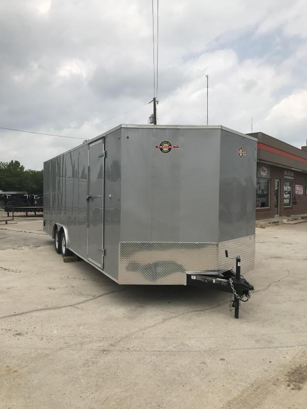 2018 Carry-On 8.5X24CGRCM Enclosed Cargo Trailer
