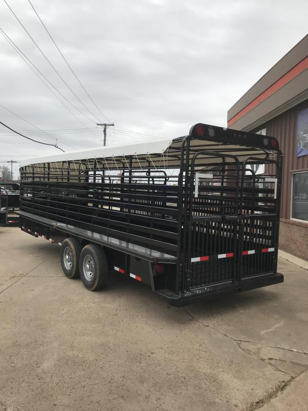 2019 Delco Trailers GB68X2427K Livestock Trailer
