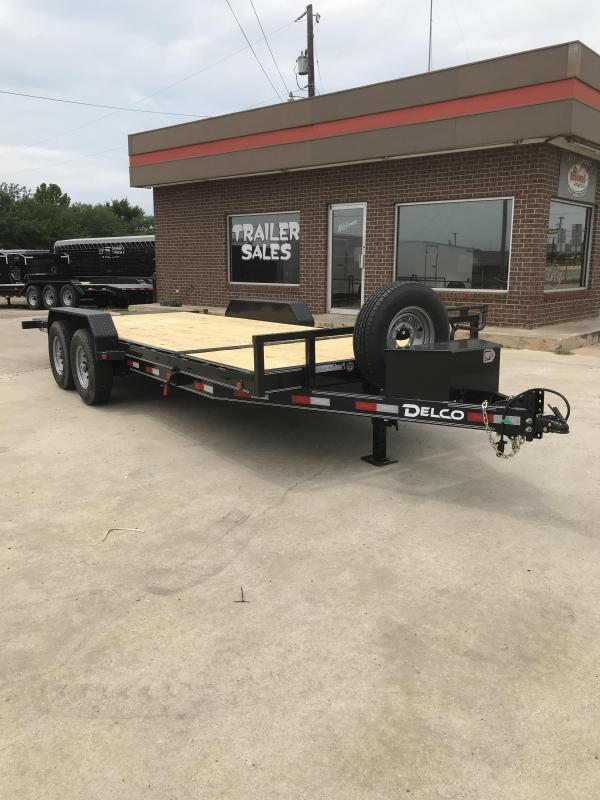 2019 Delco Trailers TB0832027 Equipment Trailer in Dierks, AR