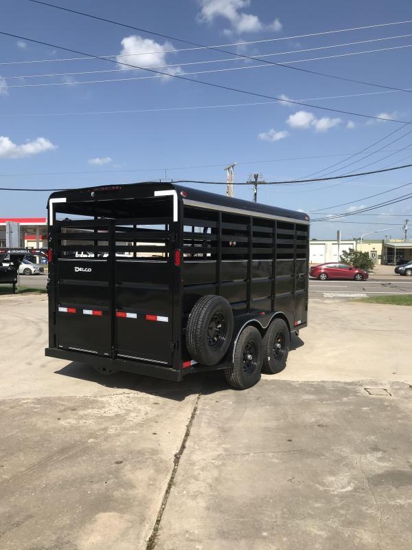 2019 Delco Trailers BS6816252 Livestock Trailer