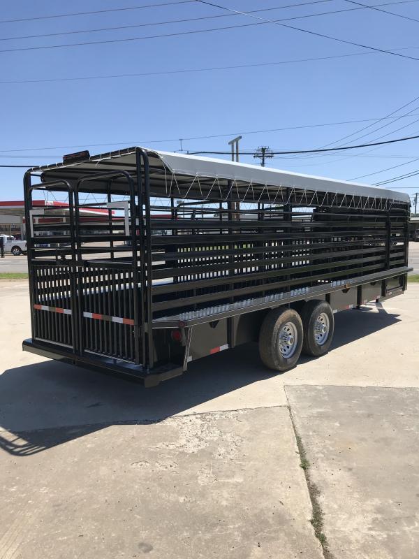 2019 Delco Trailers GB6824270 Livestock Trailer